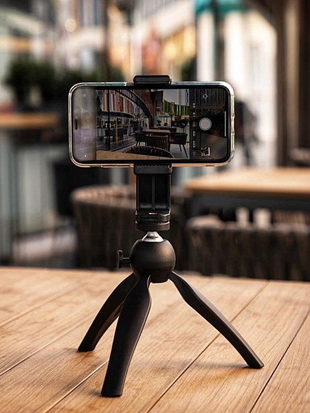三腳架桌面三腳架迷你手機拍攝vlog相機視頻手持自拍小三腳架便攜直播【99免運】