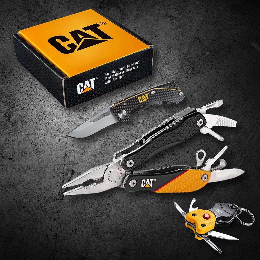 【Powerbuilt寶力優工具】CAT®經典隨身工具收藏組- 240192