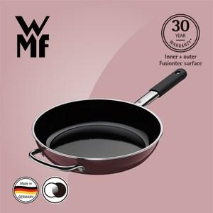 【WMF】Fusiontec 深煎鍋 28cm(金屬玫瑰 赭紅色)