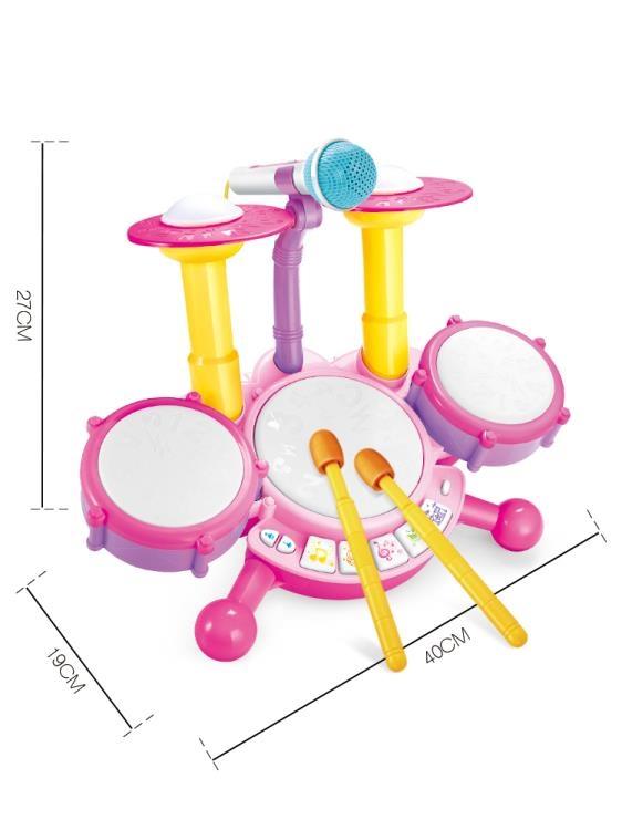 寶寶架子鼓兒童初學者敲打樂器音樂玩具1-3歲2男孩4女孩6生日禮物