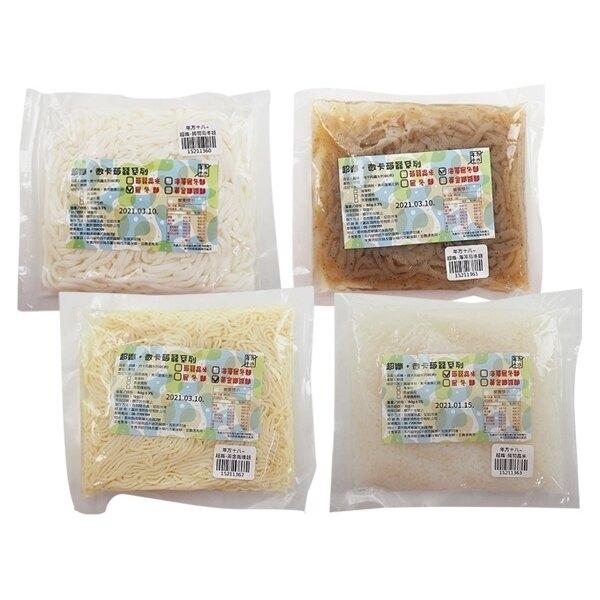 年方十八 超纖 蒟蒻烏冬麵/海藻烏冬麵/黃金纖維麵/蒟蒻晶米(150g) 款式可選【小三美日】◢D211360