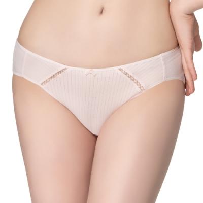 思薇爾 惹萌漾甜心派系列M-XL低腰三角內褲(木桃粉)