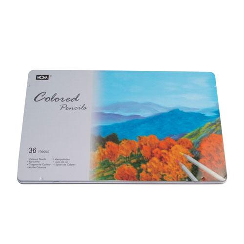 618購物節MONA 油性 80507 色鉛筆 36色/鐵盒裝 4490-36