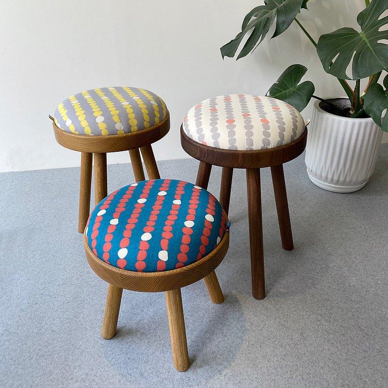 TOMO - 碰皮 / 排列圓點 / 胡桃木 白橡木 / 椅凳 邊几 入厝 送禮