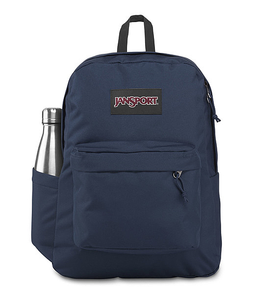 JANSPORT 校園後背包 SUPERBREAK PLUS 後背包-深藍 43511