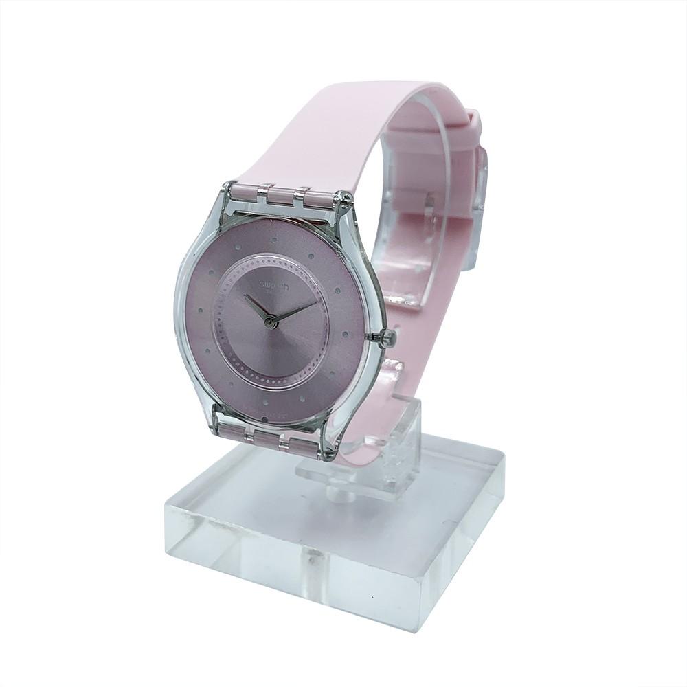 Swatch PINK PASTEL 腕錶 手錶 粉 SFE111