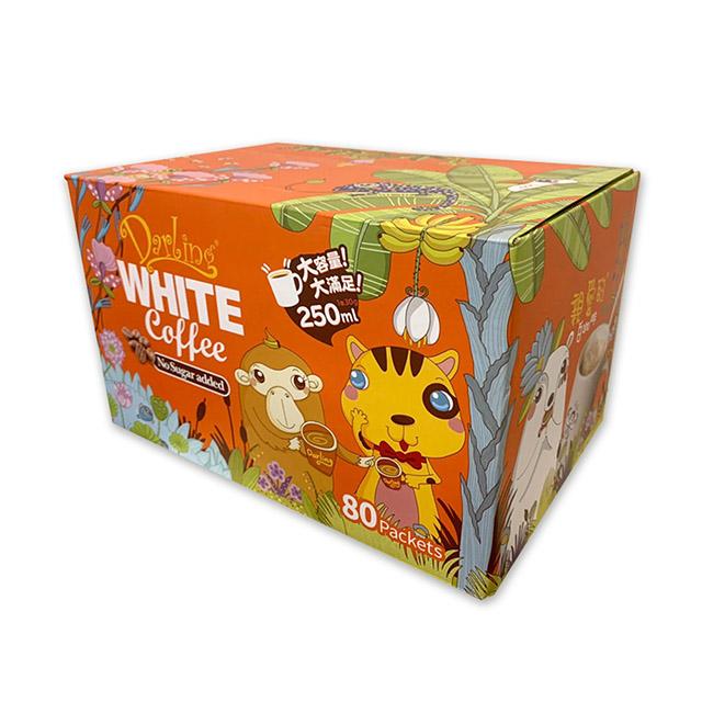親愛的 白咖啡(不加糖 )二合一 30公克 X 80包