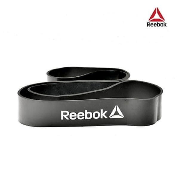 Reebok-高彈性訓練阻力帶(深灰)(34kg阻力)