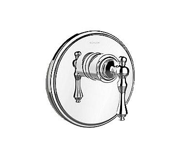 【麗室衛浴】美國 KOHLER Modulo 一路附牆花灑開關外殼 (鉻) K-72802T-4-CP 含軸心