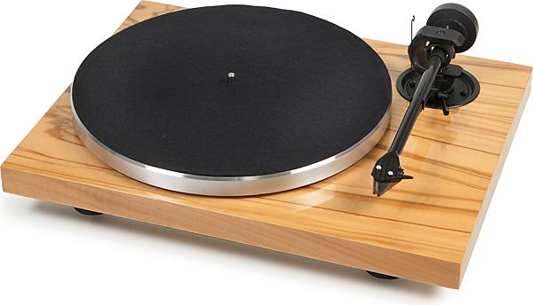 奧地利 Pro-Ject 1Xpression Carbon Classic (n/c) LP黑膠唱盤 - 木紋鋼烤 (不含唱頭)