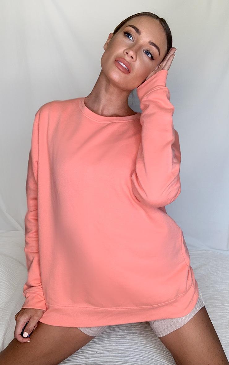 Peach Ultimate Oversized Sweater