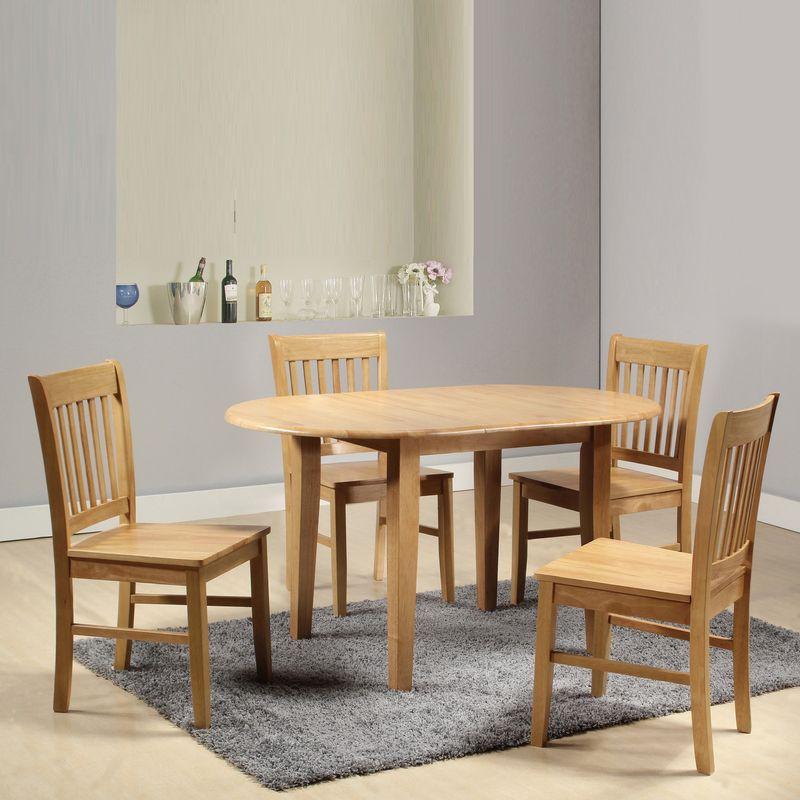 【FA877-3】塔帕斯4.5尺原木伸縮橢圓餐桌