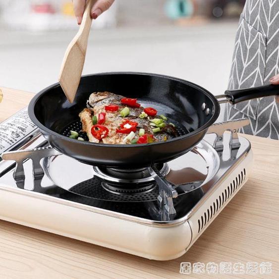 不銹鋼煎鍋平底鍋不黏鍋牛排煎鍋煎餅鍋煎蛋鍋電磁爐燃氣爐通用  夏洛特居家名品