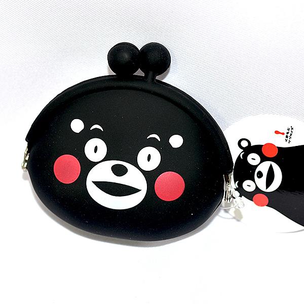 熊本熊 矽膠零錢包 日本正版 kumamon