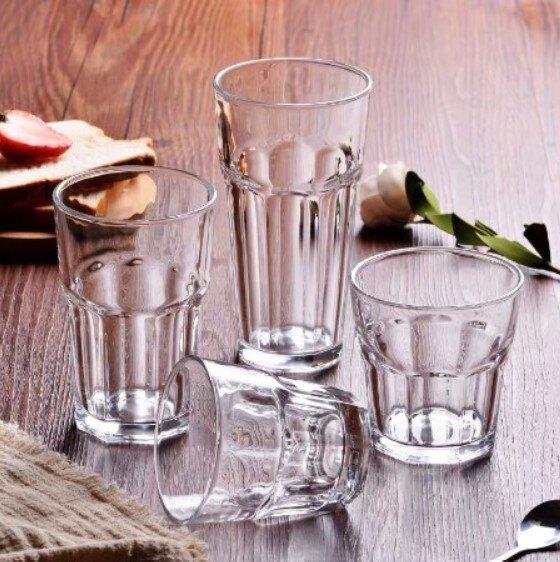 強化水杯 美式八角杯 270ML 290ML 365M 夜店調酒杯 強化玻璃杯 美式杯 威士忌杯 家用 營業 宴會 批發 土耳其製 廚房餐具
