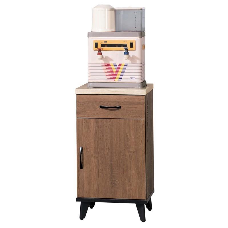 sa319-3 麥納得淺胡桃1.5尺仿石面碗櫃下櫃(附隔板一片)