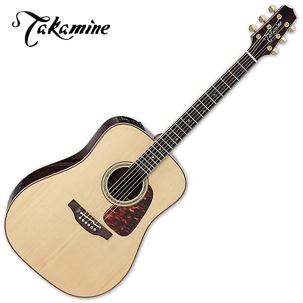 Takamine TMFJ-P7D 嚴選雲杉面板 紫檀木背側板 民謠吉他- EQ CTP-3 Cool Tube™/ 日本廠/ 原廠公司貨/