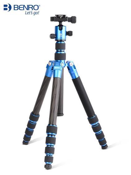 百諾碳纖維三腳架MC19單反照相機攝影支架微單佳能專業便攜獨腳架 夏洛特居家名品