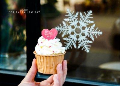 AM好時光【K121】Specially鑽石愛心燙金裝飾插牌10枚❤情人節告白慕斯蛋糕飾插卡 杯子布丁蛋糕 手工甜點小卡