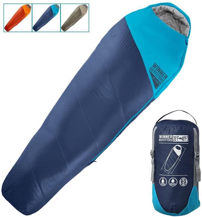 【日本代購】Winner Outfitters帶有壓縮袋的媽咪睡袋 旅行和戶外活動