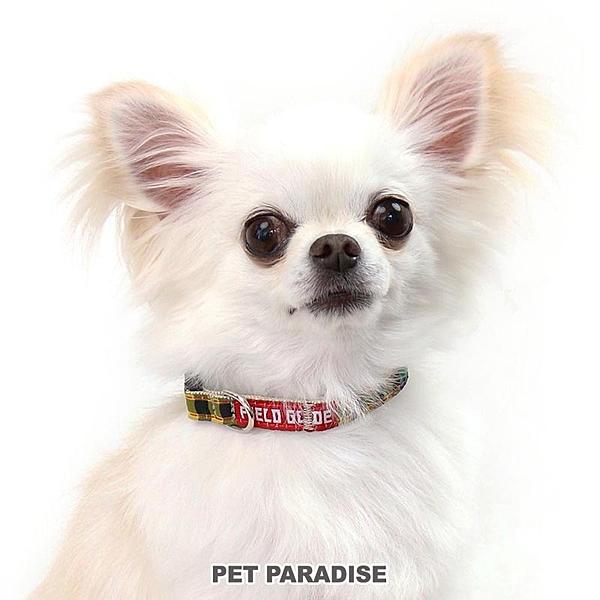 【PET PARADISE 寵物精品】Field Glide 黃綠格紋項圈【SS】 寵物造型項圈