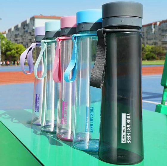 水杯 塑料子茶杯男學生運動健身便攜太空杯超大容量水壺 - 夏洛特居家名品