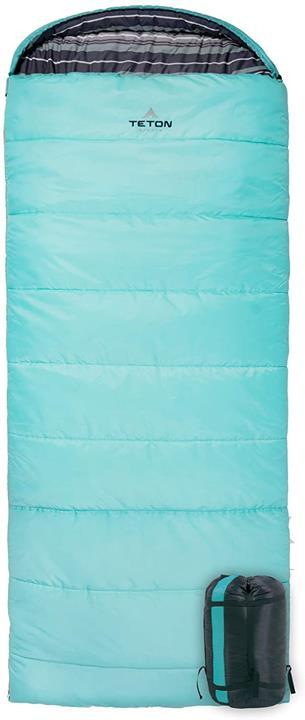 【日本代購】TETON Sports Celsius Normal -18C / 0F袋 適合寒冷的露營 藍綠色