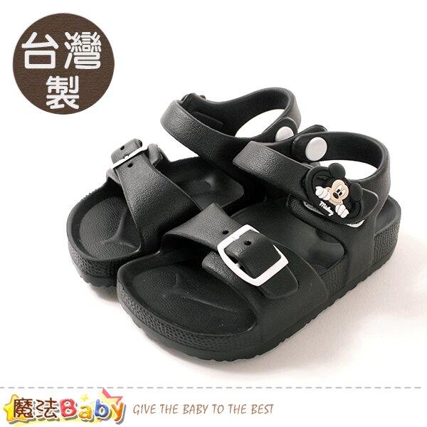 男童鞋 台灣製迪士尼米奇授權正版極輕量涼鞋 魔法Baby~sd3074