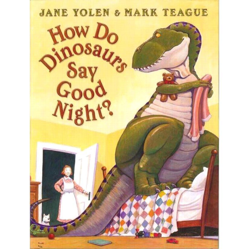 How Do Dinosaurs Say Good Night?【禮筑外文書店】(精裝)[73折]