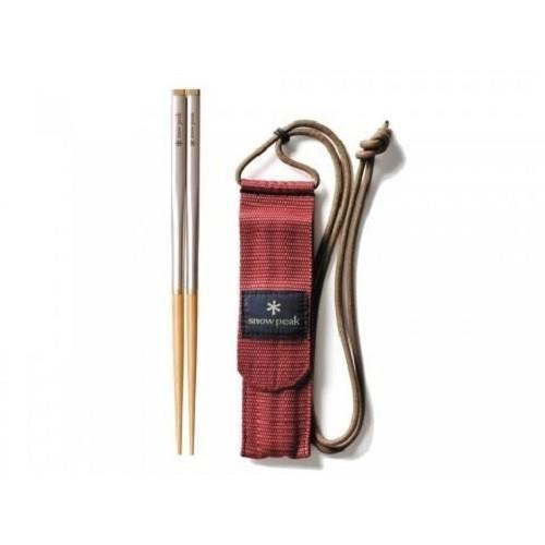 Snow Peak SCT-110 和武器組合筷 方形 M