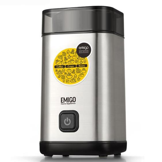 磨豆機 啡憶電動家用咖啡豆研磨機小型自動咖啡機五谷雜糧粉碎機 - 夏洛特居家名品
