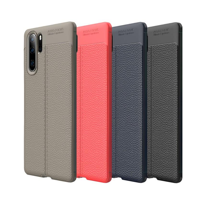 Huawei Mate 20X 20 Pro 10 Pro 荔枝紋保護殼皮革紋造型超薄全包手機殼背蓋