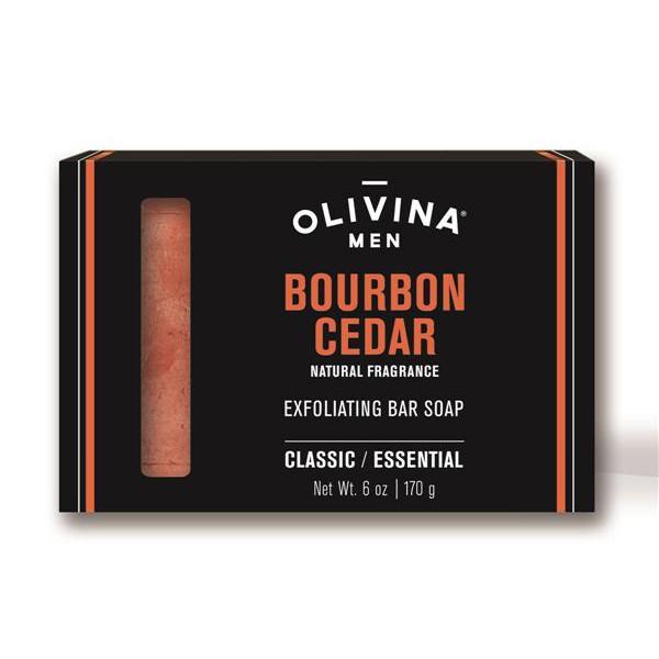 OLIVINA MEN 去角質香皂/ 6 oz/ 雪松+煙燻香草 誠品eslite