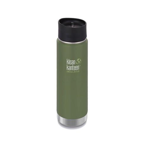 【Klean Kanteen】20oz不鏽鋼寬口咖啡蓋保溫瓶-綠葡萄(霧面)