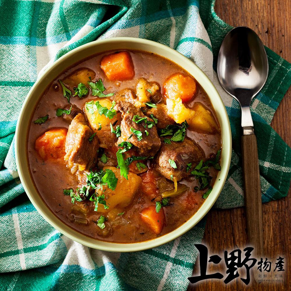 上野物產淮南獨門紅燒牛肉湯450g10%/包x6包