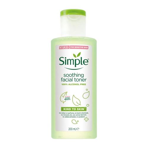 Simple 清妍 親膚舒緩保濕化妝水(200ml)【小三美日】D103856