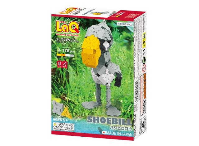【e-child】LaQ迷你客鯨頭鸛★日本製造立體3D拼接積木/益智玩具/台灣獨家代理