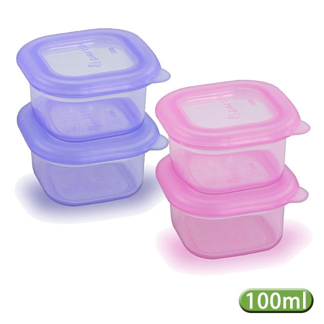 帕緹塔 Partita 矽膠保鮮盒100ml/2入