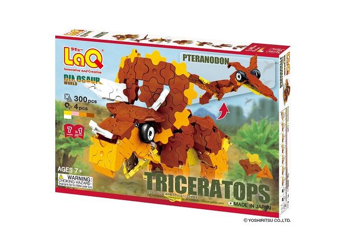 【e-child】LaQ大地三角龍★日本製造立體3D拼接積木/益智玩具/台灣獨家代理