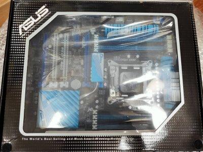 【含稅】全新盒裝 華碩 P9X79 PRO 2011 支援NVMe SSD開機 DDR3 藍芽 ATX 主機板 一年保