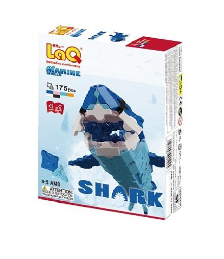 【e-child】LaQ迷你客鯊★日本製造立體3D拼接積木/益智玩具/台灣獨家代理