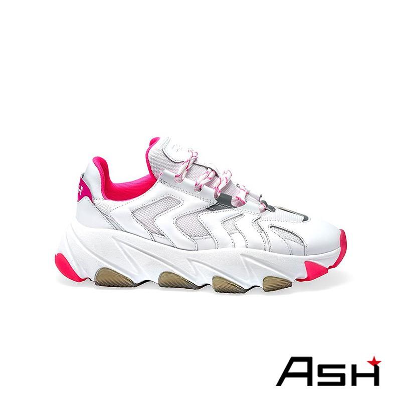 ASH EXTREME 增高厚底老爹鞋 果凍桃色