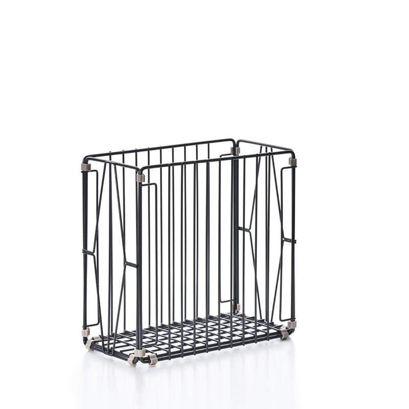 自由組鐵線收納籃 - 菱格窗花 - 直型