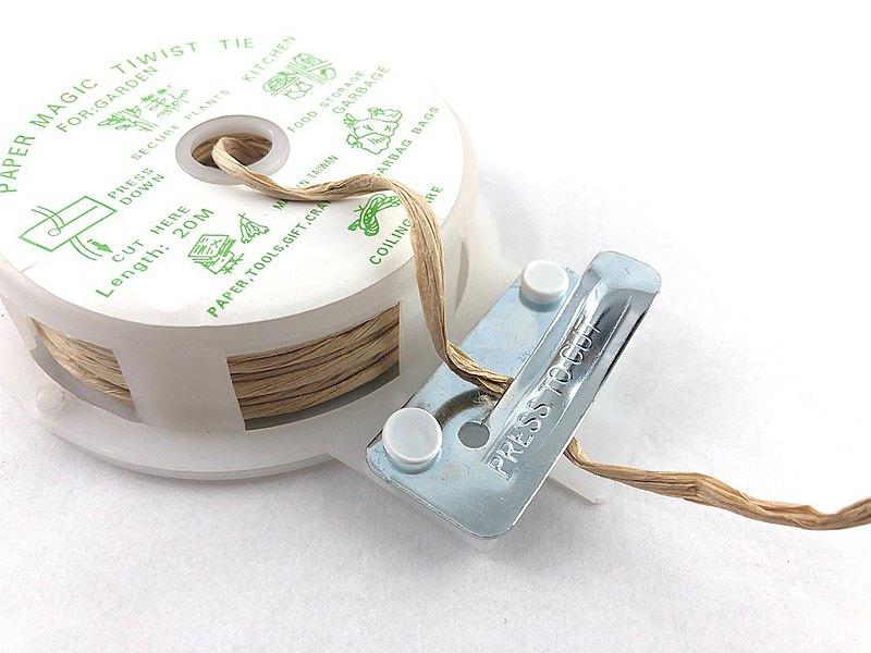 紙拉菲草魔帶/鐵絲/防水天然材質