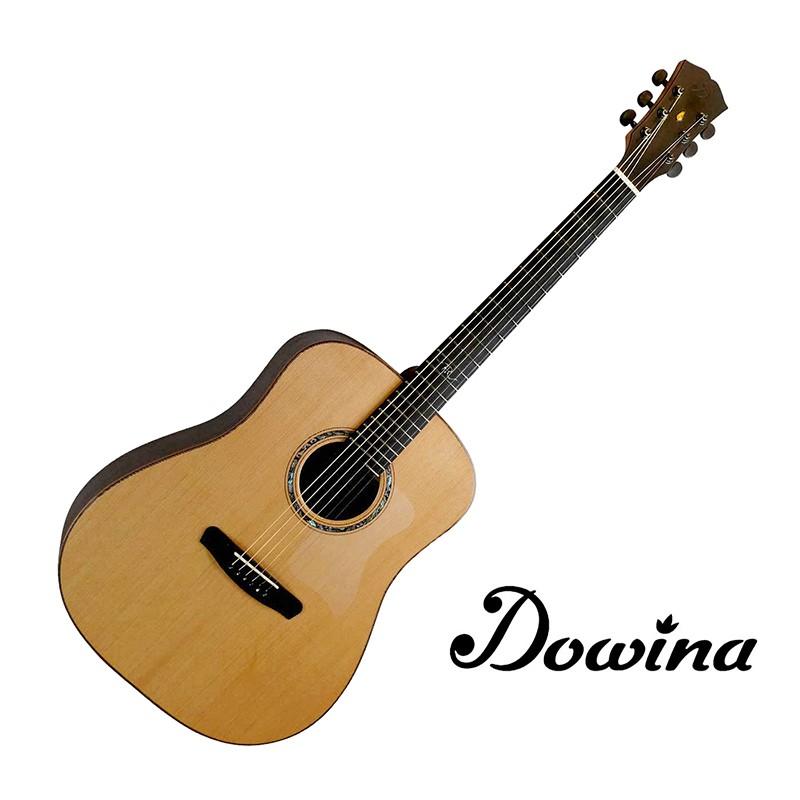 Dowina Amber Road D 紅松木面板 41吋 斯洛伐克 全單板 民謠吉他 - 【他,在旅行】