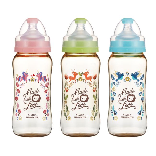 Simba小獅王辛巴 桃樂絲PPSU寬口葫蘆大奶瓶360ml