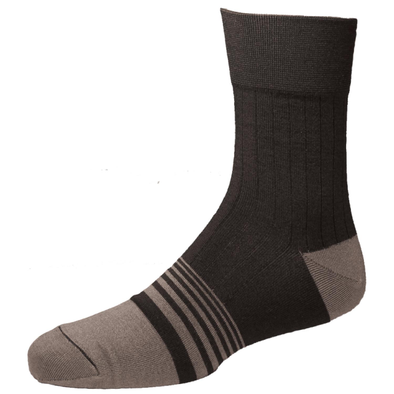 A03高級紳士襪黑銀(較會流汗者適用)(原價$250)