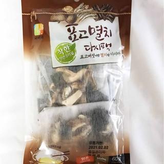韓國 No Bramd 湯包 香菇湯包 香菇風味湯包 60G