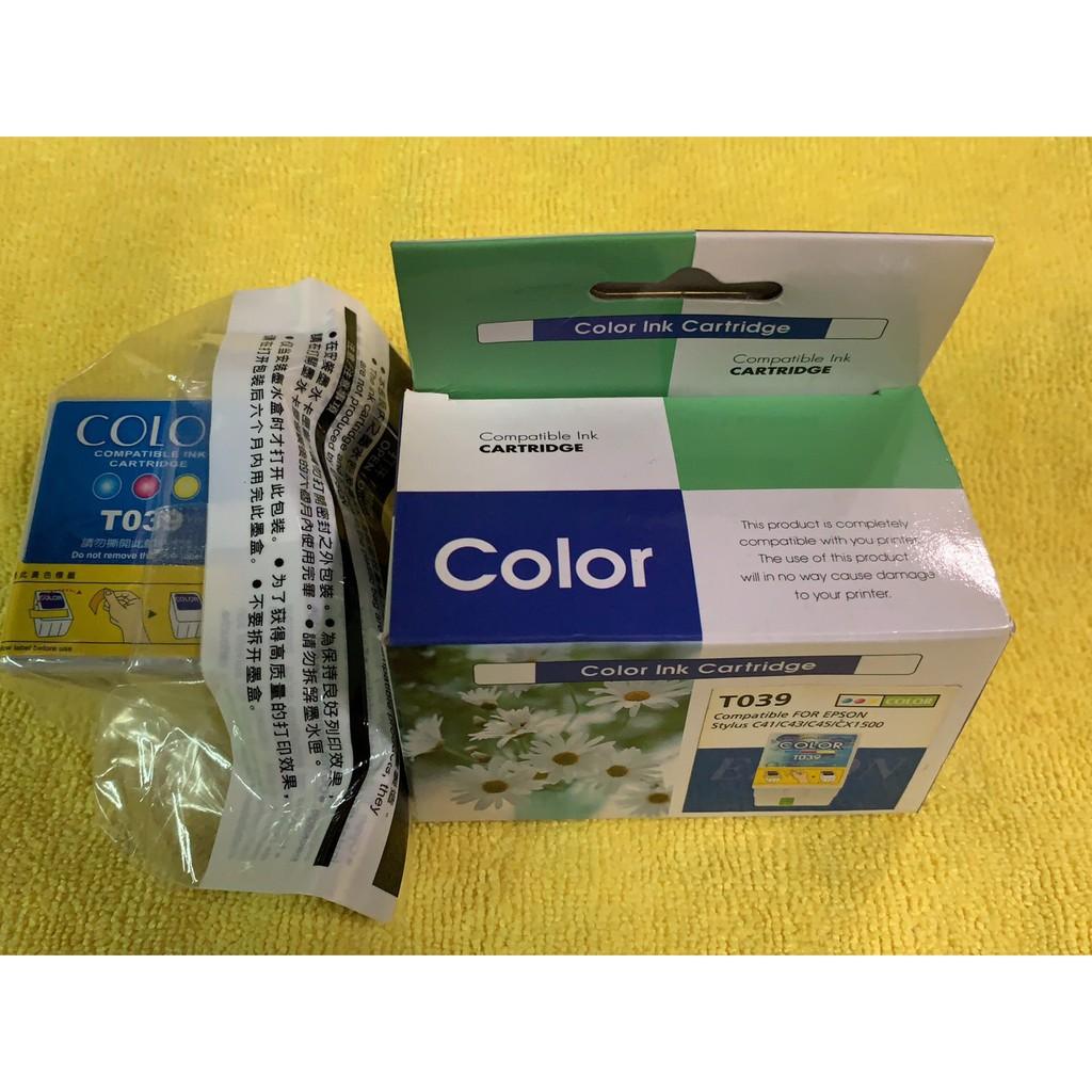 DAYFUL EPSON T039 彩色墨水匣