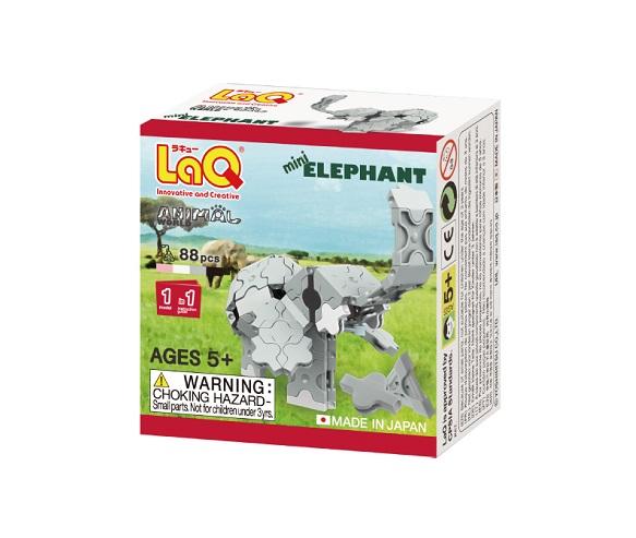 【e-child】LaQ Q版大象★日本製造立體3D拼接積木/益智玩具/台灣獨家代理
